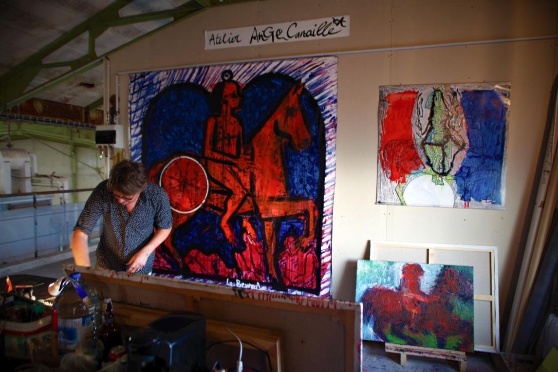 Atelier (photo JG Muller)