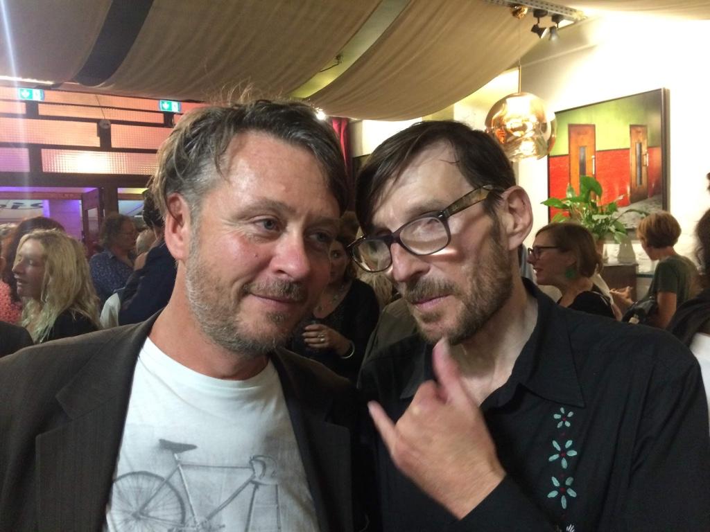 Avec André Cervera Sète Los Angeles